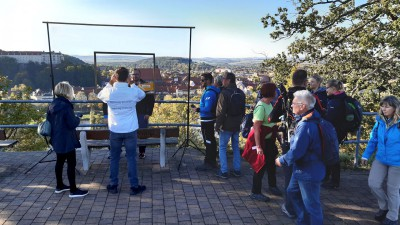 Pirnaer Photopoint beim adventurewalk 2019